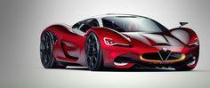 Alfa Romeo FURIA 2016 by Paul Breshke on Behance