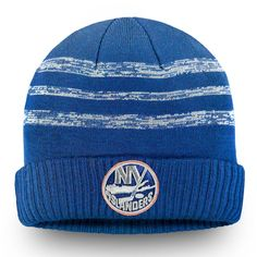 ee5934be4c85bc Men's New York Islanders Fanatics Branded Blue Authentic Pro Clutch Cuffed Knit  Hat, Your Price