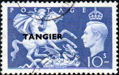 Morocco Agencies TANGIER 1950 SG 286 King George VI Fine Mint Scott 556 Other African Stamps Here
