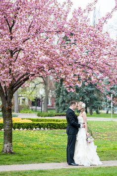 #bride #groom #spring #wedding (Image by Manifesto Photography)
