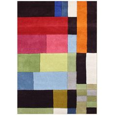 Handmade Alliyah Multicolored New Zealand Blended Wool Rug (5 x 8)