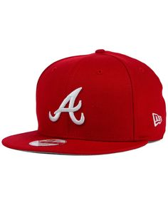 the latest 72073 1c3eb New Era Atlanta Braves C-Dub 9FIFTY Snapback Cap   Reviews - Sports Fan Shop  By Lids - Men - Macy s