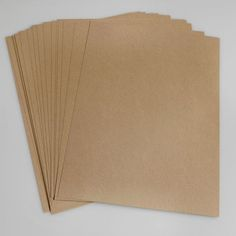 23€, selbstklebendes Kraftpapier, 100 Stück A4 für den Drucker   Labels