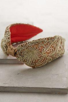 Baroque Headband - anthropologie.com #anthroregistry