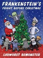 """A parody of """"The Night before Christmas,"""" sees Santa visiting the castle of Miss Devel where a very excited Frankenstein and his monster friends live. - See more at: http://www.buffalolib.org/vufind/Record/1947877#sthash.TWNEja3X.dpuf"""