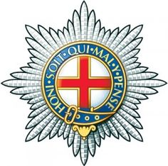 The regimental badge of the Coldstream Guards (CG) of the Guards Division, it is one of the Foot Guards regiments of the British Army. Army Tattoos, Military Insignia, Military Cap, Military Uniforms, Army Hat, British Army, Special Forces, Coat Of Arms, Military History