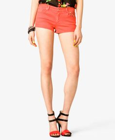 Studded Denim Shorts #Forever21  #studded #Shorts - http://AmericasMall.com/categories/juniors-teens.html