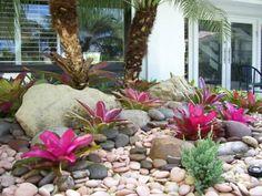 Rocky backyard garden landscaping ideas - My Gardening Space