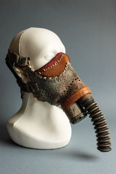 Fallout Tribe Gas Mask vol.3 Burning Man Wasteland Weekend Cosplay