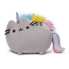Gund is proud to present Pusheen, the adorable internet sensation, as a new line of collectibles! Bring home the chubby gray tabby cat as this soft and cuddly inch plush backpack clip. Take Pusheen wherever you go! Unicorn Rooms, Unicorn Bedroom, Unicorn Cat, Cat Bedroom, Unicorn Themed Room, Bedroom Ideas, Rainbow Unicorn, Master Bedroom, Chat Pusheen