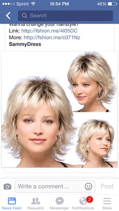 Details about Women Short Fluffy Blonde Hair Wigs with Bangs Synthetic Hair Wig Cosplay Wig - - Short Wavy Hair, Short Hair With Layers, Short Hair Cuts For Women, Short Blonde, Fine Hair Cuts, Medium Hair Styles, Curly Hair Styles, Wig Styles, Braid Styles