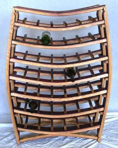 Image detail for -Large Wine Barrel Wine Rack 100 recycled by winecountrycraftsman Barrel Projects, Wood Projects, Wine Barrel Crafts, Whiskey Barrel Furniture, Barris, Wine Craft, Wine And Beer, Recycled Furniture, Wine Storage