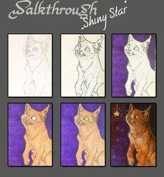 Walkthrouth Shiny Star by =WhiteSpiritWolf on deviantART