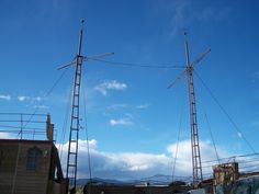 Masts---ripe for chandelliers