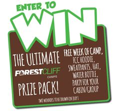 Enter for your chance to WIN a week away at Southwestern Ontario's most popular summer camp!