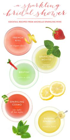 Cocktail Recipes from Michelle Sparkling Wine