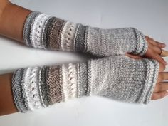 SALE 50% OFF Fingerless gloves Arm warmers Womens by DachuksB