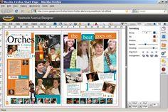Jostens Yearbook Avenue Online App by Nathaniel Salzman at Coroflot.