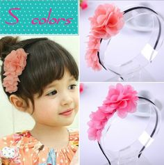 Check lastest price wholesale girl cute long flower headband  head hoop headband hair accesories 5colors in stock 20pcs/lot just only $18.92 with free shipping worldwide  #babygirlsclothing Plese click on picture to see our special price for you