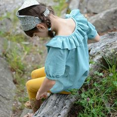 8473d5a971168 Driftwood Blouse + Dress Bundle - Twig + Tale Sewing Projects For Kids