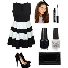 Derby #1 by amberpend on Polyvore featuring polyvore, fashion, style, Jimmy Choo, Lord & Berry and OPI