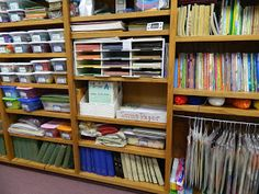 Hands On Bible Teacher. Organizing the Resource Room at the church ...