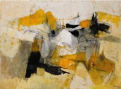 "lawrenceleemagnuson: ""Afro Basaldella (Italy 1912 -1976) Solchiaro (1958) """