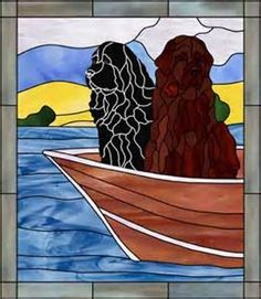 stained glass labrador dogs - Yahoo Image Search results