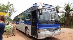 Our Bus from Vang Vieng to Vientiane