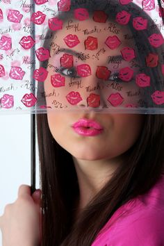 Ad campaign for my beauty collection. Don't you love it?