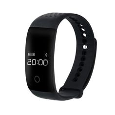 Bluetooth Smart Watch Bracelet, Somuns Wearable Waterproof Sports Tracker Heart Rate Monitor Tracker Wireless Activity Fitness Silicone Wristband with Sleep Calorie Counter Pedometer Monitoring *** Find out more about the great product at the image link.