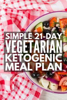 Simple 21-Day Vegetarian Keto Meal Plan for Weight Loss | New to the ketogenic diet? Need new keto recipes to stay inspired? Check out this sample low carb keto diet for vegetarians! With 80+ breakfast, lunch, dinner, and snack recipes, we've got everything your stomach desires: fat bombs, Indian dishes, zucchini noodles, spaghetti squash, soups, simple crockpot recipes, dairy-free options…and more! #keto #ketogenic #ketosis #ketodiet #ketogenicdiet #ketorecipes #ketocrockpotrecipes…