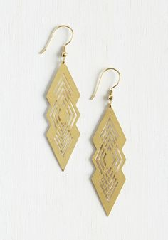 Angled Up in You Earrings, @ModCloth