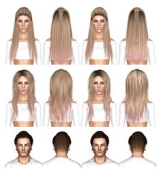CoolSims 105, Newsea`s Viking and Skysims 43 hairstyles retextured by July Kapo for Sims 3 - Sims Hairs - http://simshairs.com/coolsims-105-newseas-viking-and-skysims-43-hairstyles-retextured-by-july-kapo/