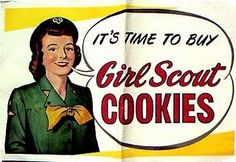 Girl Scout Cookies ad