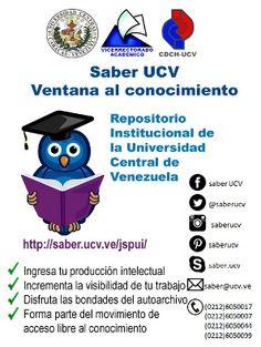 Saber UCV: Ventana al Conocimiento #AccesoAbierto #Openaccess #TextoCompleto #UCV #Repositorio