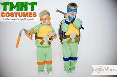 The Scrap Shoppe: Teenage Mutant Ninja Turtle Costumes (TMNT)
