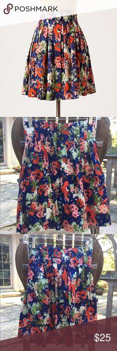 Anthropologie skirt sz 0 EUC Anthropologie Parameter Apothecary Floral skirt, size 0. Elastic waistband. Button front. Anthropologie Skirts Mini