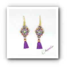 Amanda earrings tutorial  earrings pattern with by 75marghe75