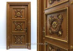 Резная дверь GRD-036 - Фото - Ставрос Wooden Front Door Design, Wooden Front Doors, Indian Doors, Room Doors, Entrance Doors, Dream Decor, Decor Interior Design, Decoration, Wood Art