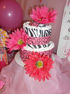 Tiaras and Bowties- Our home made cake for Boom's Sassy Sweet 16