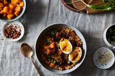 // Butternut Squash Brown Rice Porridge recipe on Food52