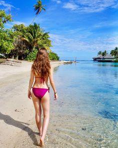 "105 Likes, 4 Comments - J E S S (@jessxiberras) on Instagram: ""We've arrived in Para, Para, Paradise! 👙🏝💕 #laoranamoorea #honeymoon #frenchpolynesia"""