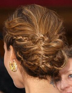 jessica alba updo back view - Google Search