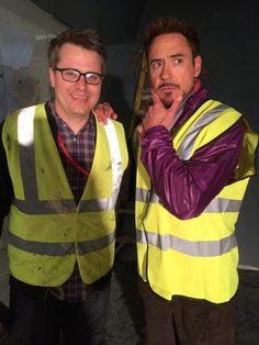 Primera imagen de Robert Downey Jr. en 'Los Vengadores: La era de Ultron'. http://www.cinemascomics.com/2014/04/23/noticias/39271