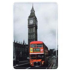 Placa de Metal Big Ben de Londres