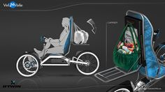 LM Electric Car Concept, Electric Trike, Tricycle, Three Wheel Bicycle, E Biker, Bike Sketch, Recumbent Bicycle, Reverse Trike, Specialized Bikes