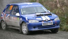 Peugeot 106 Rallye of Rachael Patterson on the 2-day National Wales Rally GB in 2013. Photo by DWphotography ( see facebook or folksy shops).