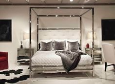 bernhardt landon metal poster bed - Google Search