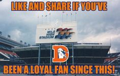 Growing Up With the Denver Broncos at Mile High Stadium - Growing up watching the Denver Broncos long before John Elway was QB. Go Broncos, Broncos Fans, Denver Broncos, State Of Colorado, Colorado Rockies, Denver Colorado, Denver Area, Denver City, Clubs In Denver